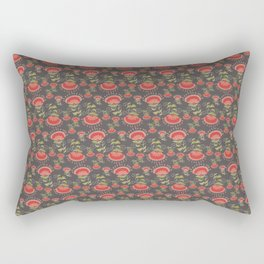 fresh floral sweetness in a vintage pattern Rectangular Pillow