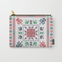 Tatreez tile Carry-All Pouch