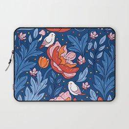 Art nouveau blue Laptop Sleeve