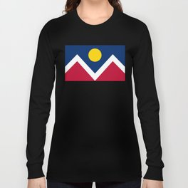 Denver, Colorado city flag - Authentic High Quality Long Sleeve T-shirt