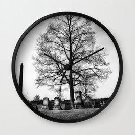 Cemetery Tree Wall Clock