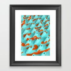 Graphic Fashion #1 - Air Max Framed Art Print