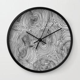 Contours Wall Clock