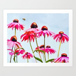 Bee Lively Art Print