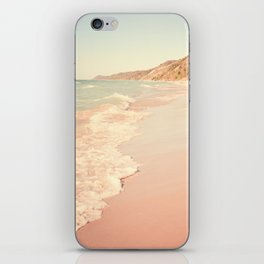 Her Mind Wandered Back and Forth With the Waves iPhone Skin
