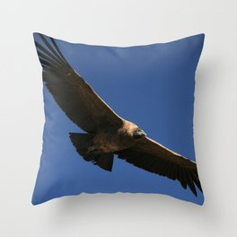 Peruvian Condor Throw Pillow