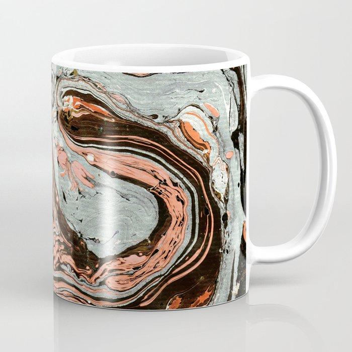 Abstract luxury painting marble Coffee Mug