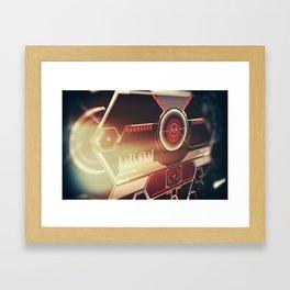Head-up display. Framed Art Print