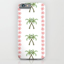 A Pair of Palm Trees   iPhone Case