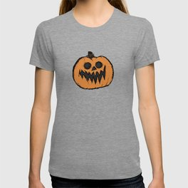 spoopy pumpkin T-shirt