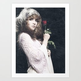 Stevie Nicks Vintage 01 Art Print
