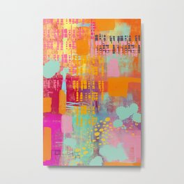 another day another party - abstract painting Metal Print