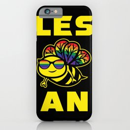 Les Bee An Lesbian Gift iPhone Case
