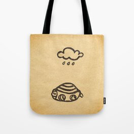 Cranky Turtle Tote Bag