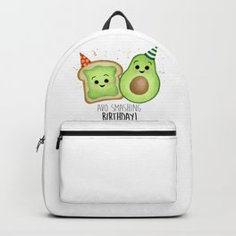 Avo Smashing Birthday - Avocado Toast Backpack