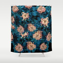 Сhrysanthemums Shower Curtain