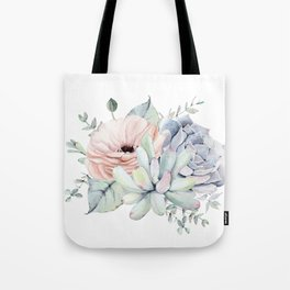 Pretty Succulents by Nature Magick Tote Bag