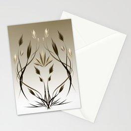 floral emblem 1 Stationery Cards