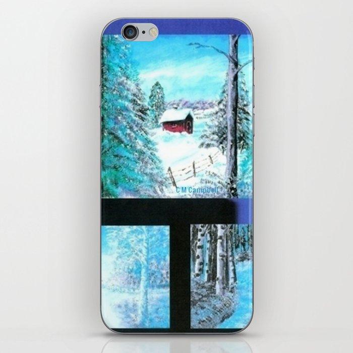 """"""" Winter Collage II """" iPhone Skin"""