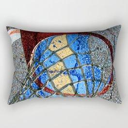 Basketball Art Alleyway Rectangular Pillow