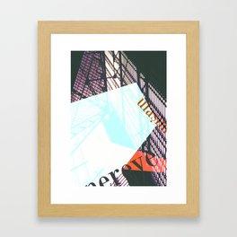 Story of the Roads - 1 Framed Art Print