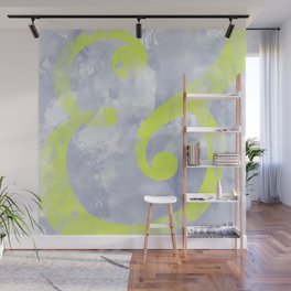 Grungy Ampersand Wall Mural