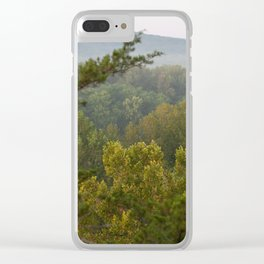 Castlewood Trees Clear iPhone Case