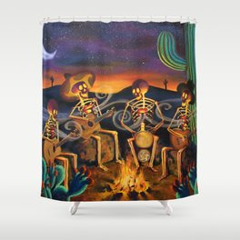 Here's To Life  Shower Curtain
