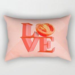 I LOVE TOMATO !!! Rectangular Pillow