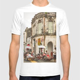 Trishaw Break II - George Town, Penang  T-shirt