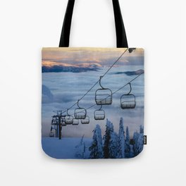 LAST CHAIR Tote Bag