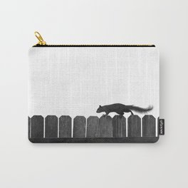 SQUIRREL ON A FENCE Carry-All Pouch
