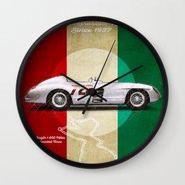 Mille Miglia Racetrack Vintage Wall Clock