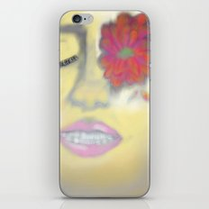 Flower Eye iPhone & iPod Skin