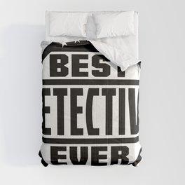 Best Detective Ever Comforters