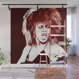 Tina - Pop Art Wall Mural