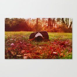 The Lover of Simple Things Canvas Print