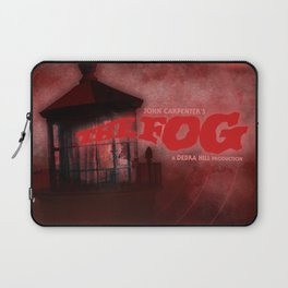 The Fog - Blood Red Laptop Sleeve