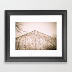 Up I Framed Art Print