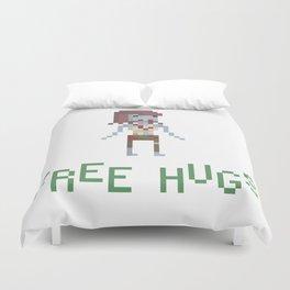 free hugs 3 Duvet Cover