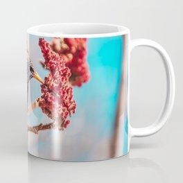 Hungry Starling, Bird Photograph Coffee Mug