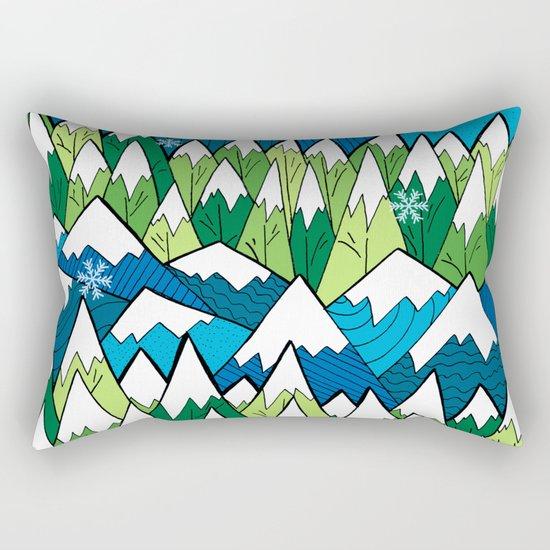 Winterscape Rectangular Pillow
