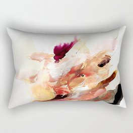 Day 8: The beauty of humanity + the ugliness of humans. Rectangular Pillow
