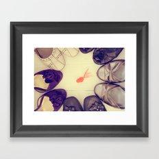 Decisions, decisions Framed Art Print