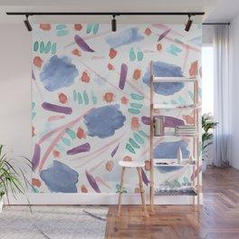 Watercolor Mess Wall Mural