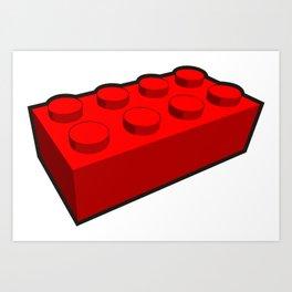 block stacking Art Print