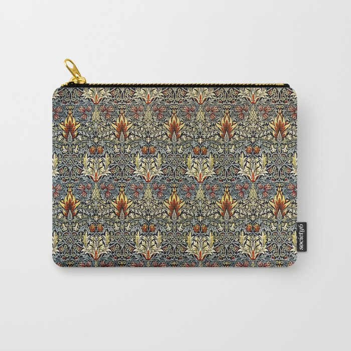 Snakeshead design Carry-All Pouch