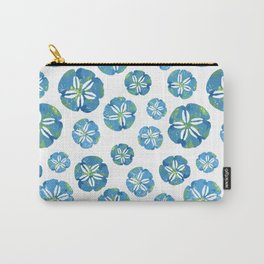 Blue Sand Dollars Carry-All Pouch
