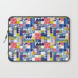 Geometric Playground Laptop Sleeve
