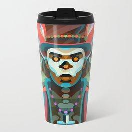 Baron Samedi Metal Travel Mug